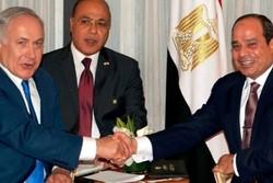 ابعاد جدید همکاریهای گسترده مصر و رژیم صهیونیستی