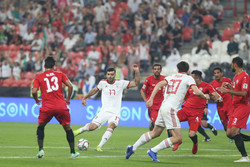 دیدار تیم های ملی فوتبال ایران و یمن