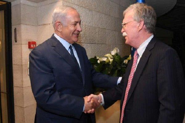 تکرار ادعاهای نخ نما در کنفرانس خبری نتانیاهو و بولتون