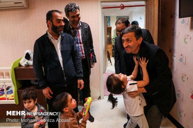 Head of Imam Khomeini Relief Foundation visits Beheshte Imam Reza charity