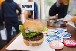 همبرگر با گوشت گیاهی رونمایی می شود/ طعمی شبیه گوشت