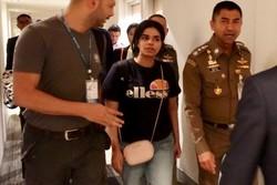 دختر پناهجوی عربستانی وارد کانادا شد
