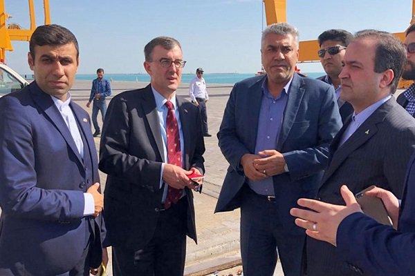 Australia calls for broadening port coop. with Iran