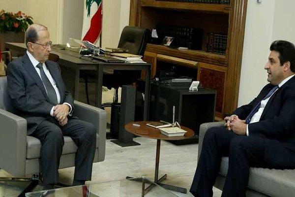 السفير اللبناني لدى طهران يلتقي مع ميشال عون