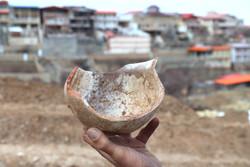 کشف گورستان مربوط به دوران پیش از اسلام در روستای خاوه قم
