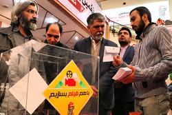 بازدید سرزده وزیر ارشاد از جشنواره مردمی فیلم «عمار»