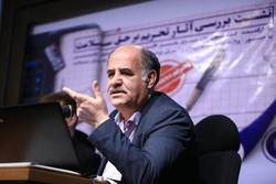 Ahmad Qavidel in a meeting on Tuesday to analyze sanctions' effects on the right to health.