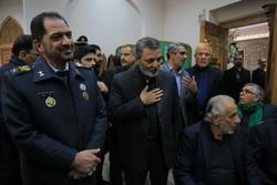 ایرانی فوج کے سربراہ کی والدہ کی یاد میں مجلس ترحیم