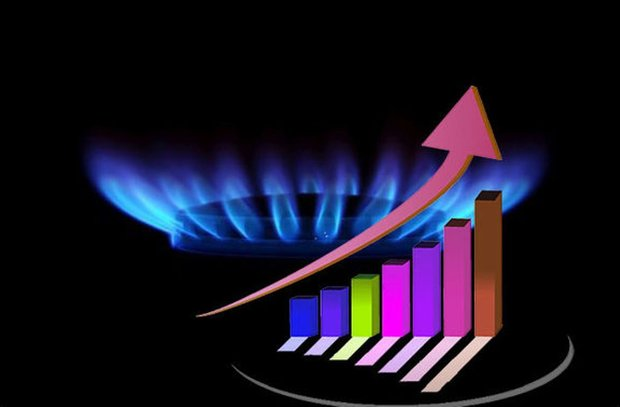 مصرف گاز خانگی ۴۲ درصد افزایش یافت