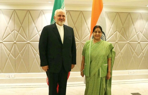 Iran, India FMs confer on bilateral ties, Afghanistan