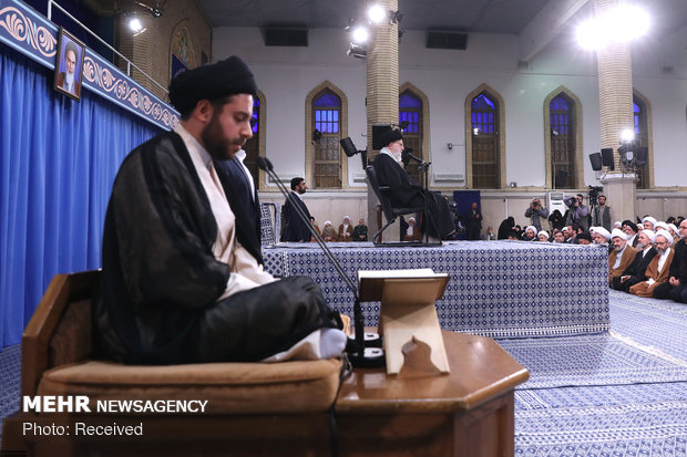 Leader's meeting with Qom people