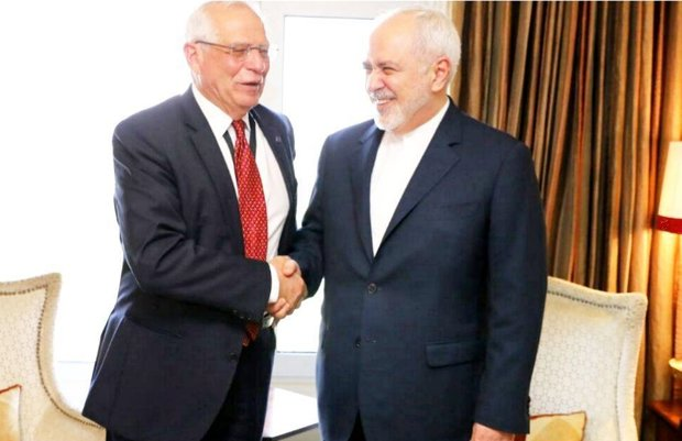 Zarif, Borrell talk over bilateral coop., intl. issues
