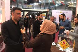 بازدید دبیر جشنواره فیلم فجر از جریان برگزاری جشنواره فیلم عمار