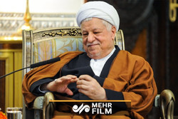 آخرین فیلم از مرحوم هاشمی رفسنجانی