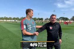 حضور کاپیتان بایرن مونیخ و تیم ملی آلمان در تمرین پرسپولیس