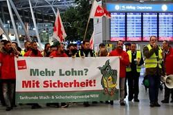 لغو نزدیک به ۱۰۰۰ پرواز در آلمان در نتیجه دو روز اعتصاب