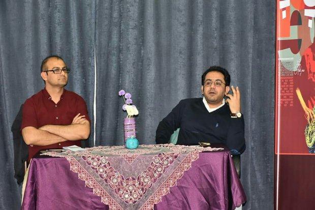 برگزاری شب ادبیات با حضور احسان عبدی پور در جهرم