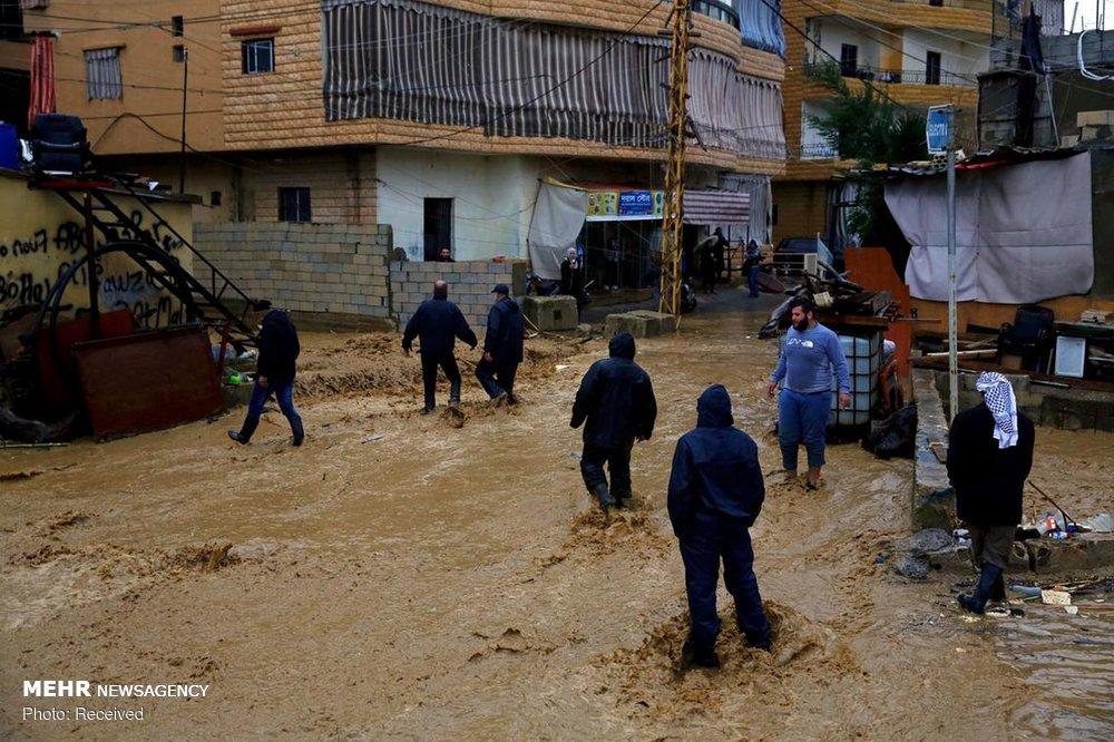 سیل در لبنان