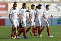 Iran's last training session before facing Vietnam