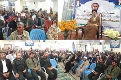 مراسم تجلیل از دو دهه خدمات امام جمعه آبدان برگزار شد