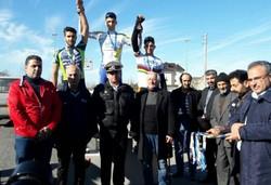 برگزاری مسابقات لیگ دوچرخه سواری مازندران در نور