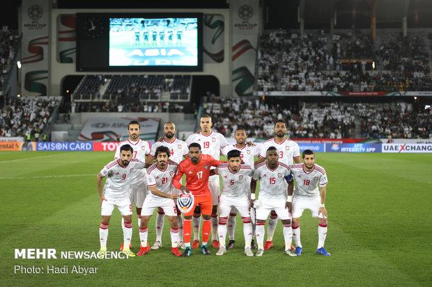تیم ملی فوتبال امارات به مرحله یک چهارم نهایی صعود کرد