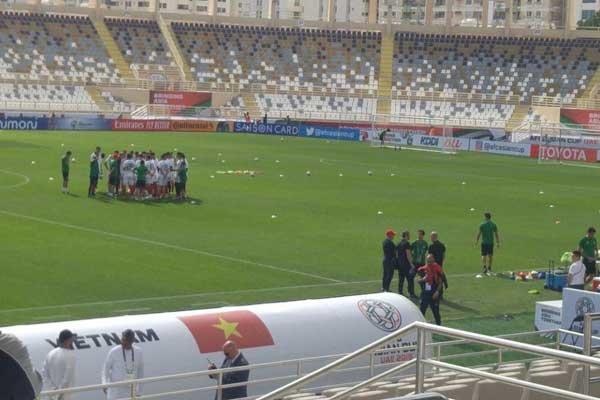 حضور نلو وینگادا در تمرین تیم ملی فوتبال ایران