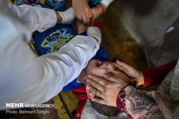 طرح پایش و حمایت از سلامت جسمی و روحی کودکان دروازه غار