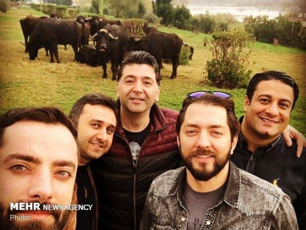 سلفی خبرساز بهرام رادان در اهواز