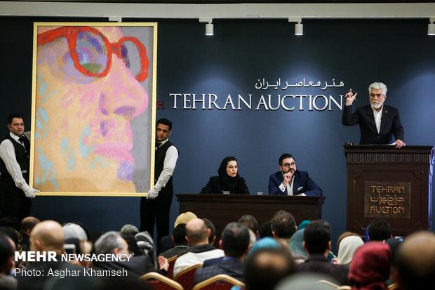 Tahran'daki açık artırma 8 milyon dolarlık satışla son buldu