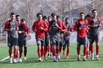 آخرین تمرین تیم فوتبال امید پیش از دیدار با کویت