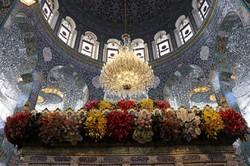 تزيين مقام السيدة زينب عليها السلام في دمشق