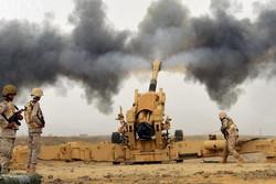 حملات توپخانهای متجاوزان سعودی به «صعده» یمن