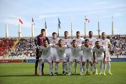 رقابت تیم ملی فوتبال ایران با ۴ تیم دیگر برای گل نخوردن