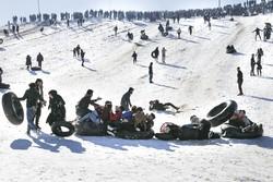 التزلج على العجلات في خراسان الشمالية/صور