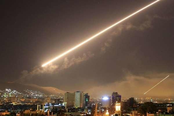دمشق ائرپورٹ پر اسرائیلی حملے پر شامی فورسز کا رد عمل
