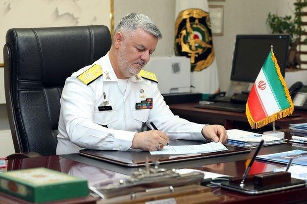 فرمانده نیروی دریایی ارتش روز پرستار را تبریک گفت