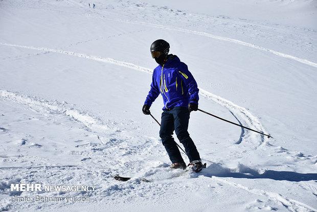 پیست اسکی سربند شازند