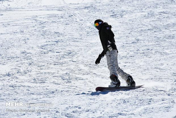 پیست اسکی کوهرنگ بازگشایی می شود