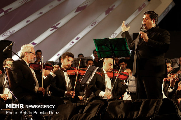 کنسرت ارکستر ملی در اصفهان