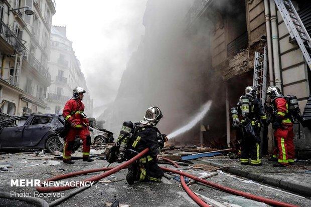 پیرس کے ایک بیکری میں زوردار دھماکے سے 4 افراد ہلاک اور 50 زخمی