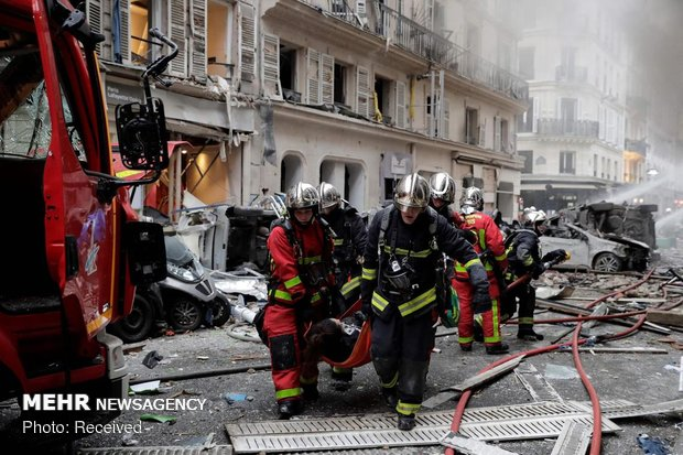 انفجار شدید در پایتخت فرانسه