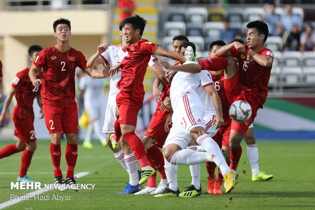 Iran vs Vietnam at AFC Asian Cup's group stage