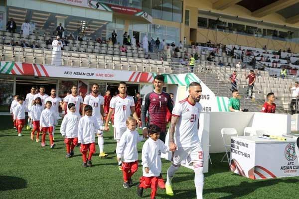 İran Milli Futbol Takımı Dubai'ye gitti