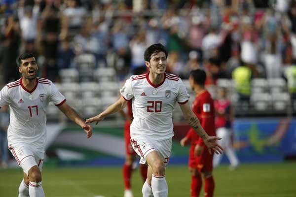 Team Melli wins Vietnam, secures berth to next round