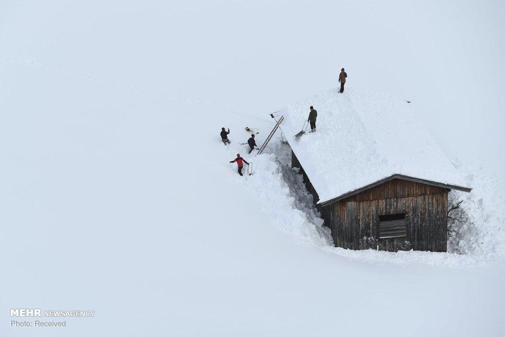 برف سنگین در آسیا، اروپا و روسیه