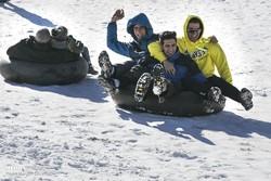 Vatandaşlar karın tadını doyasıya çıkardı