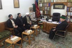 نمایندگان آستان قدس با تولیتهای آستانهای مقدس عراق دیدار کردند