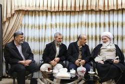 شهردار جدید کرمانشاه با آیت الله علما دیدار کرد