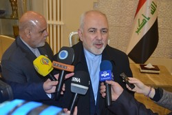 Zarif lauds Iraqi officials' stance toward Iran